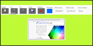 Color Picker from Screen - Image-Color-Picker.com