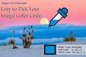 Simple to pick your image color code